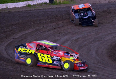 Cornwall Motor Speedway  9 June 2019       RICK at the RACES