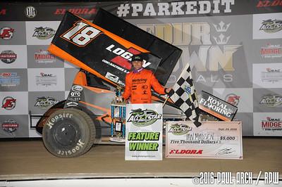 Eldora Speedway - 9/24/16 - Paul Arch