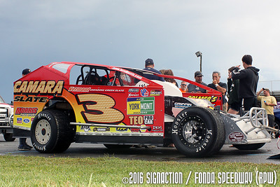 Fonda Speedway - 7/23/16 - SignACTION