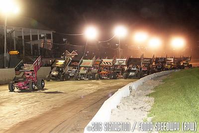 Fonda Speedway - 9/24/16 - SignACTION