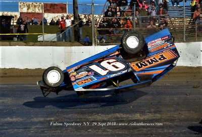 Fulton Speedway - Outlaw 200 Weekend - 9/29/18 - Rick Young