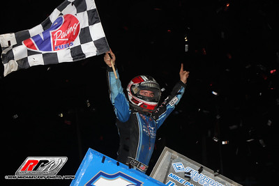 Fulton Speedway - World Of Outlaws - 10/6/18 - Michael Fry