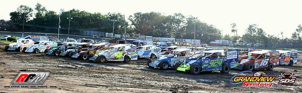 Grandview Speedway - 8/4/18 - Steve Sabo (SDS)