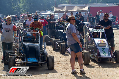 Clyde Martin Speedway - Labor Day Shootout Night - 9/1/18 - John Cliver