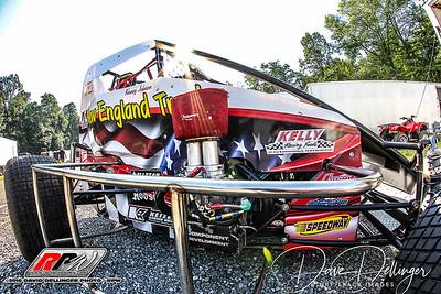 USAC - Clyde Martin Memorial Speedway - 8/4/18 - David Dellinger