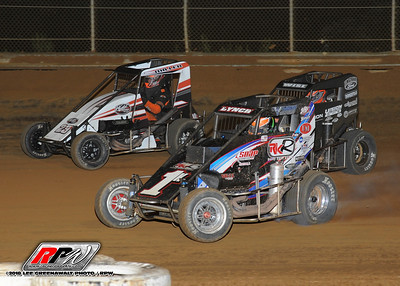 USAC - Clyde Martin Memorial Speedway - 8/4/18 - Lee Greenawalt