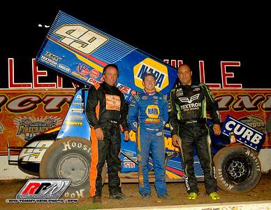 Lernerville Speedway - WoO Sprints - 9/22/18 - Tommy Hein