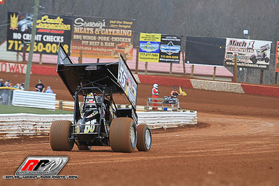 """Lincoln Speedway - 3/25/17 - Ed """"Lugnut"""" Funk"""