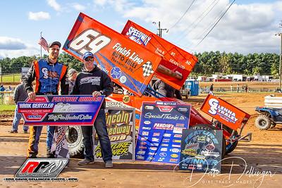 Lincoln Speedway - 10/14/18 - David Dellinger