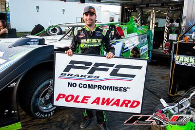 PFC Brakes Pole Award winner Josh Richards