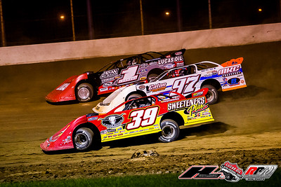 Tim McCreadie (39), Michael Chilton (97) and Earl Pearson, Jr. (1)