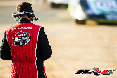 Lucas Oil Late Model Dirt Series official Marc Hoegerl