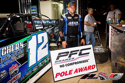 PFC Brakes Pole Award winner Jason Jameson