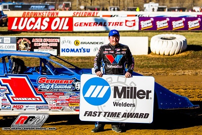 Miller Welders Fast Time Award winner Brandon Sheppard
