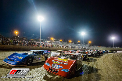 Lucas Oil Late Model Dirt Series Clash at the Mag starting field