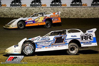 Chad Thrash (1) and Michael Arnold (4)