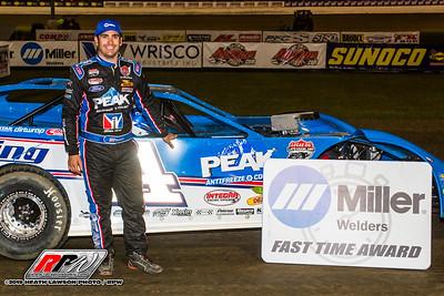 Miller Welders Fast Time Award winner Josh Richards