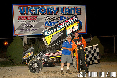 Mercer Raceway Park - 8/27/16 - Tommy Hein