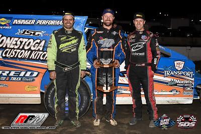 Orange County Fair Speedway - Short Track Super Series Hard Clay Finale - 10/18/18 - Steve Sabo (SDS)