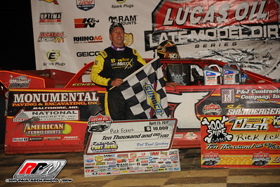 Port Royal Speedway - Lucas Oil Late Model Dirt Series - 4/23/17 - Paul Arch