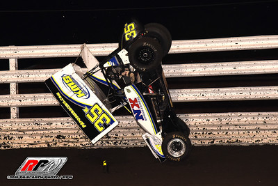 Oskaloosa Speedway - Front Row Challenge - 8/6/18 - Paul Arch