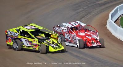 Oswego Speedway - 10/5/18 - Rick Young