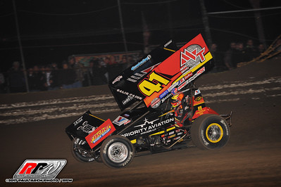 World Of Outlaws @ Volusia Speedway Park - 2/17/17 - Paul Arch