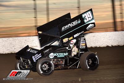 All Star Sprints >> Volusia Speedway Park All Star Sprints 2 6 19 Paul Arch Race