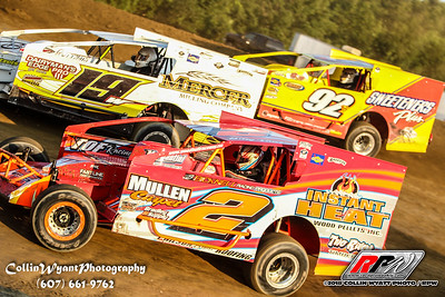 Short Track Super Series @ Woodhull - 8/9/18 - Collin Wyatt