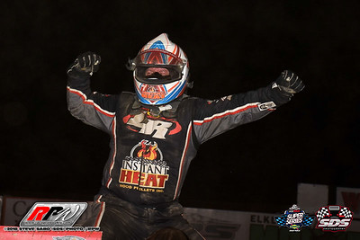 Woodhull Raceway - Hustin' The High Banks 54 Short Track Super Series - 8/9/18 - Steve Sabo (SDS)