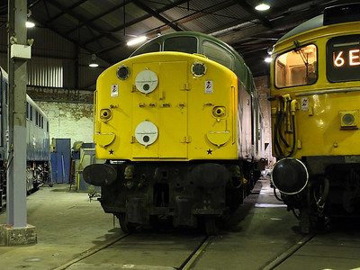 D213 at Barrow Hill Roundhouse