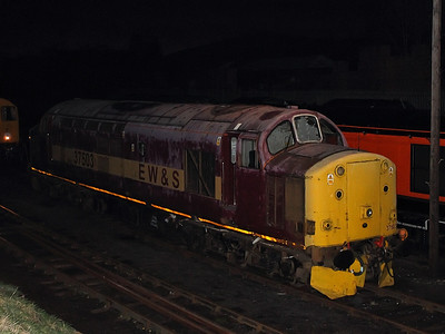 37503 at Barrow Hill Roundhouse