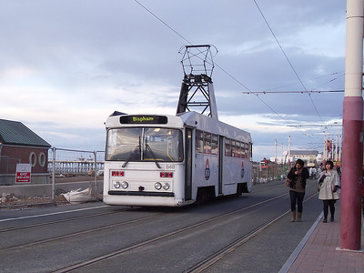 Blackpool Centenary tram, no. 648