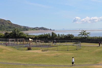 Pettycur Bay, seen from Burntisland Links, on the 16th June 2013