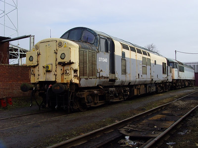 37046 stands in CF Booth on the 14th February 2009