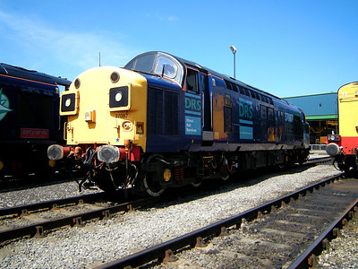 37087 poses at Kingmoor on the 11th July 2009