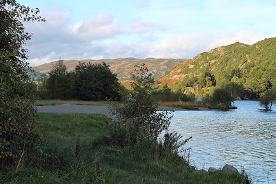 Ullswater from Glenridding, on the 5th October 2013