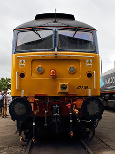47805 at DRS Gresty Bridge Open Day on the 18th August 2012