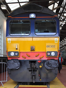 66302 at DRS Gresty Bridge Open Day on the 18th August 2012