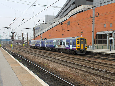 158792 arriving at Doncaster on the 14th March 2014