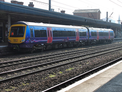 170304 stands at Doncaster on the 14th March 2014