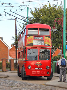 London Transport 1201 standing at the terminus