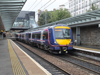 170401 stands at Haymarket on the 15th October 2015