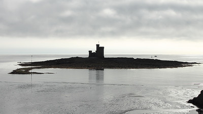The Tower of Refuge in Douglas on the 6th August