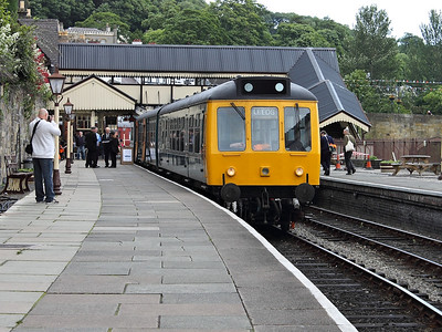 LO262 waits for time at Llangollen on the 22nd June 2013