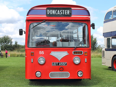 Doncaster 55 poses on the 30th July