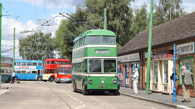Nottingham 493 basks in the sun on the 30th July