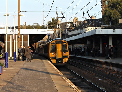 158736 at Haymarket on the 10th October 2012