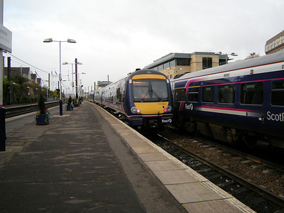 170393 departs Haymarket on the 18th October 2010