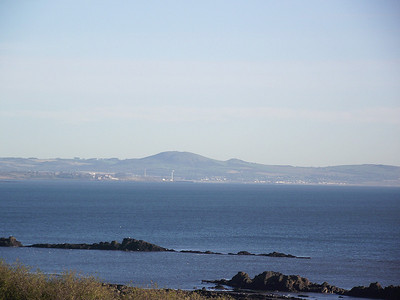 Leven as seen from Linton Court, near Kinghorn, on the 25th October 2010